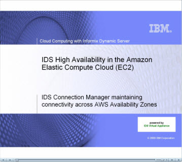 IDS High Availablity Demo