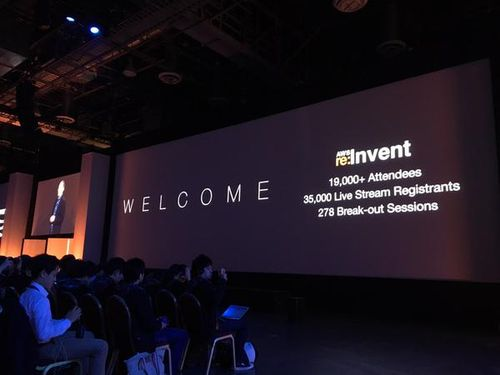 Reinvent-keynote