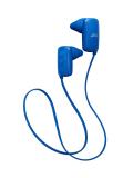 JVC HA-EB10BT-A Bluetooth スポーツ用ワイヤレス インナーイヤーイヤホン ブルー HA-EB10BT-A