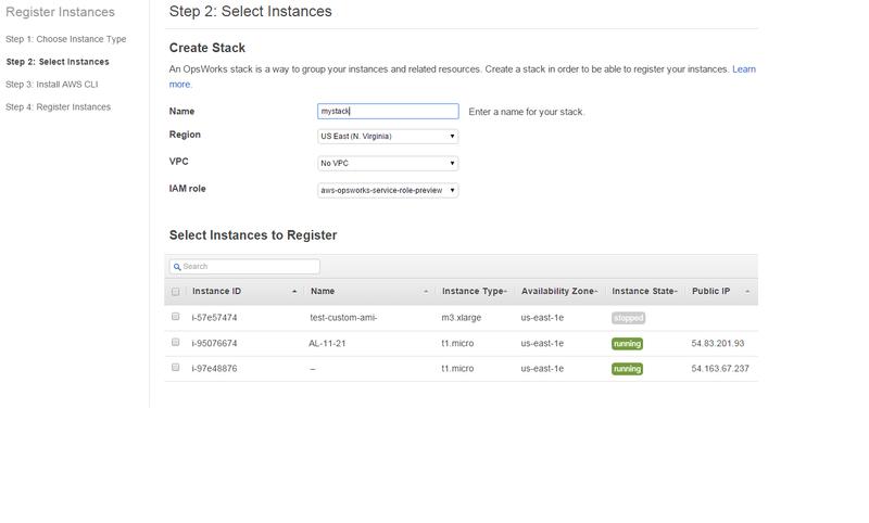 Select-instances