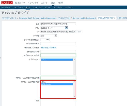 AWSxZabbix3_06_application_prototype