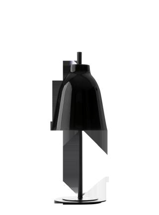 Caravaggio Table (照明) BLACK
