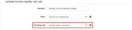 AWSxZabbix5_07_AWSLambda_Lambda function handler and role
